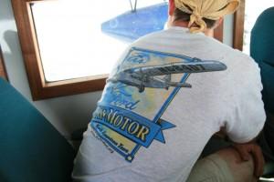 Tri-Motor Shirt on a ride